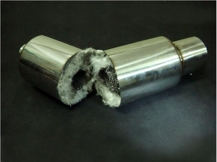 Как сделать прямоток из родного глушителя