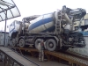 ремонт глушителя на бетономешалке