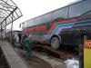 ремонт глушителя на автобусе